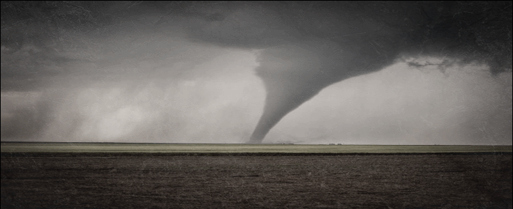 The Outbreak regional event: Incoming tornado